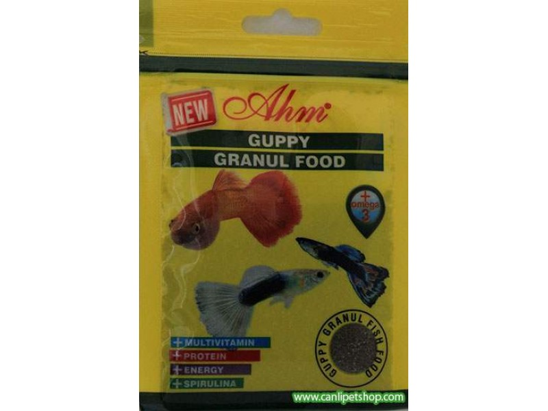 Ahm Guppy Granül Food 15 gr
