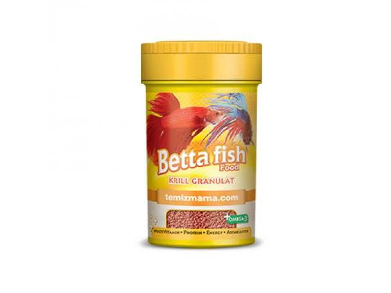 Betta Fish Food-Krill Granulat 50 Gr 100 Ml