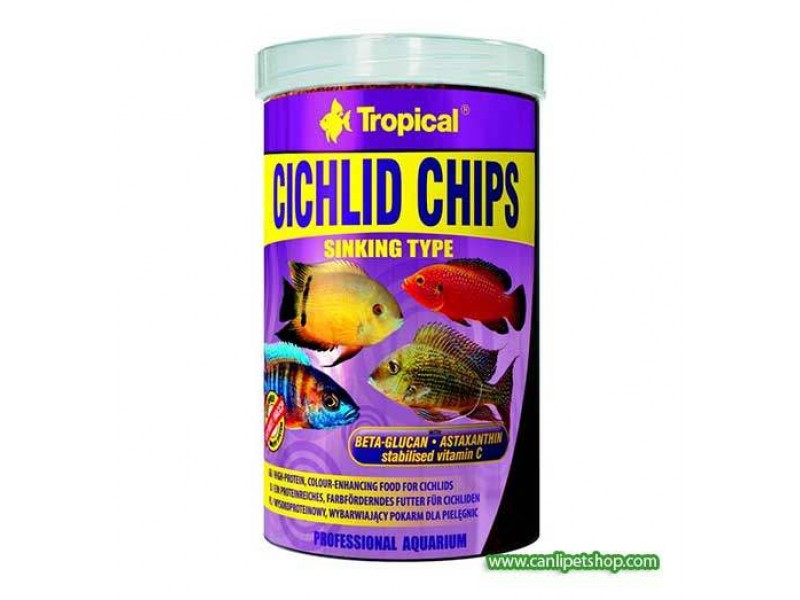 Tropical Ciklet Chips 1000 ml (520 Gr)