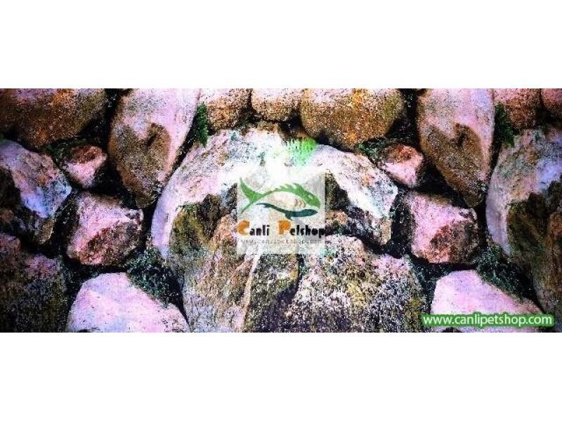 Arka Fon 10 cm (Taş Duvar) Yükseklik 60 Cm