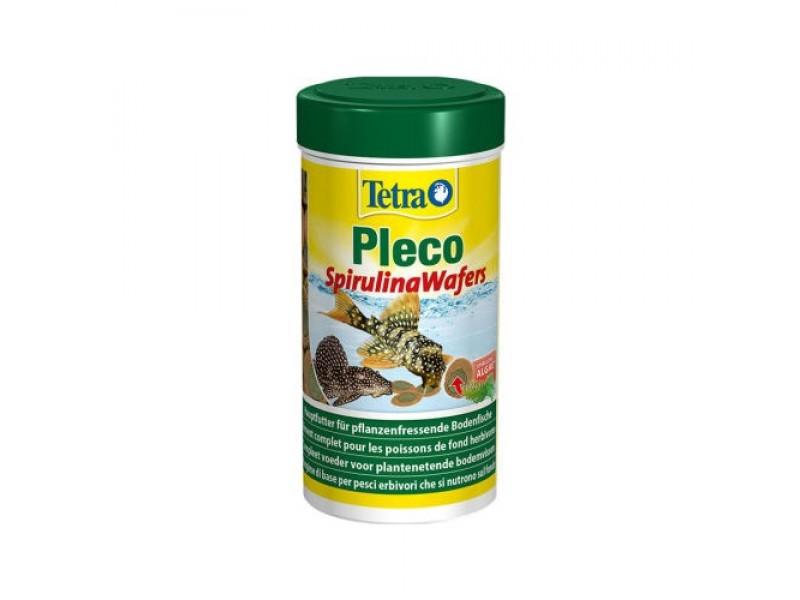 Tetra Pleco Spirulina Wafers Balık Yemi 105gr / 250 ml (Zeminde Gezen Balklar için)
