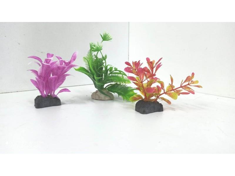 Mini Plastik Bitki Seti no: 4