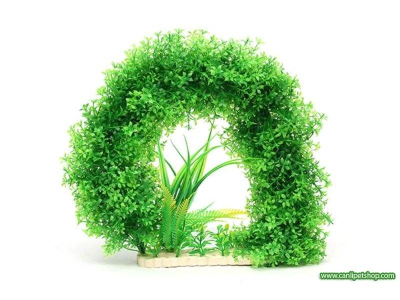 1321 Yeşil Plastik Bitki 30 cm