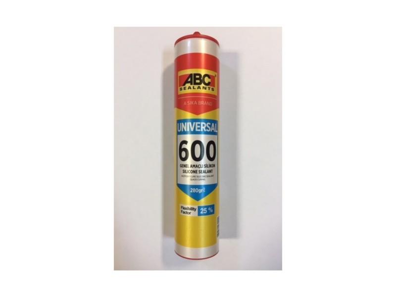 ABC 600 Genel Amaçlı Silikon 280 Gr