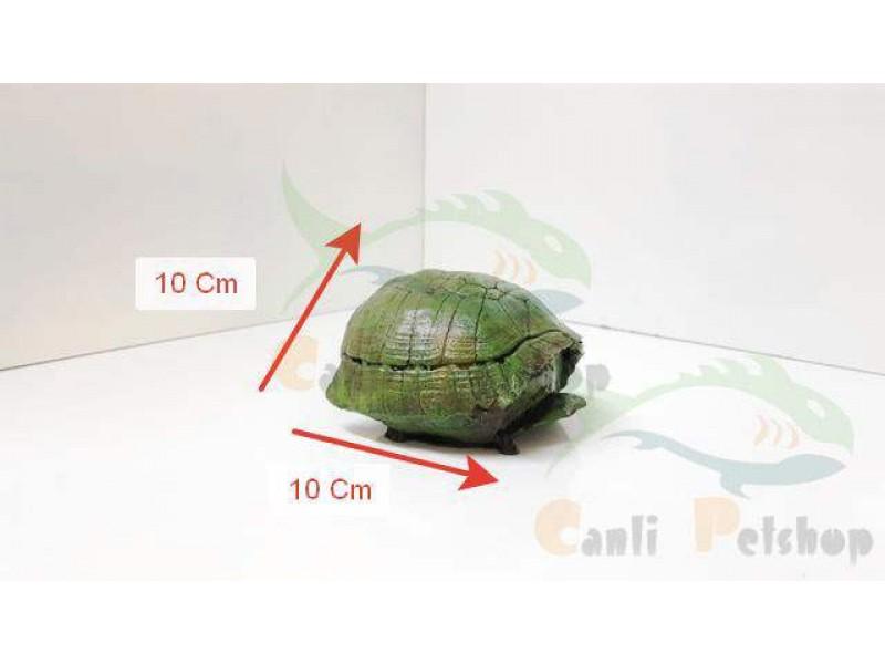 Akvaryum Dekor Kaplumbağa Kabuğu