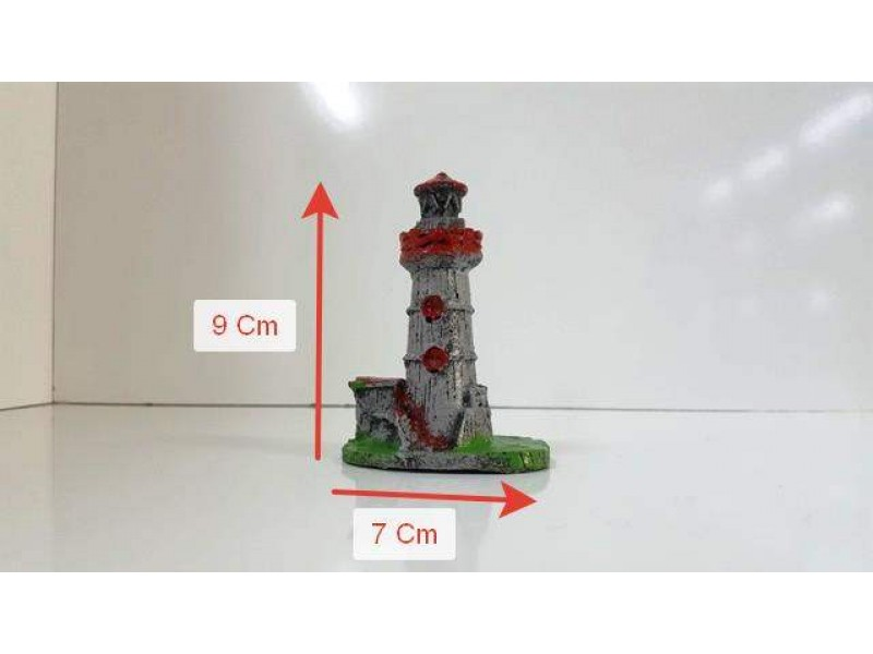 Akvaryum Dekor Mini Deniz Feneri