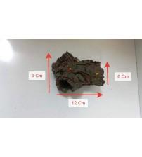 Akvaryum Dekor Ağaç Kütük 3 Delikli