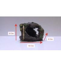Akvaryum Dekor Batık Fıçı