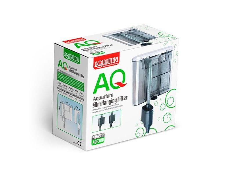 AquaWing AQF380 Akvaryum Slim Şelale Filtre 3,5W 380L/H