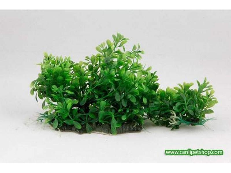 Yeşil Plastik Bitki 37 cm (2237)