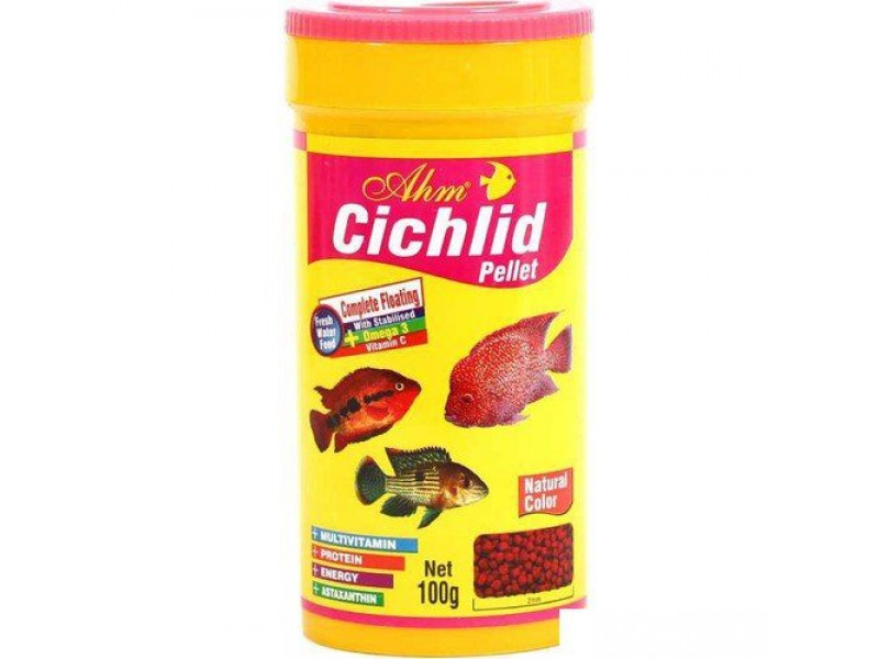 Ahm Cichlid Pellet 250 Ml