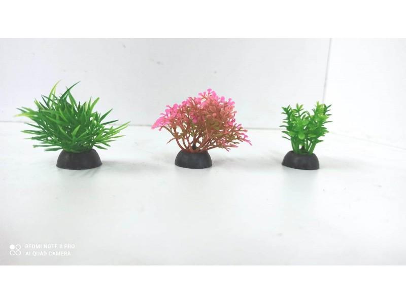 Mini Plastik Bitki Seti no: 3