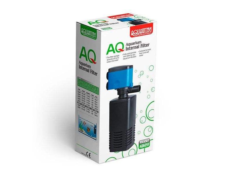 AquaWing AQ605F Akvaryum İç Filtre 15W 880L/H
