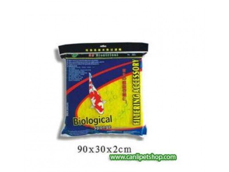 RS Biyolojik İç ve Dış Filtre Süngeri Sarı (Uzun Ömürlü) 32 x 12