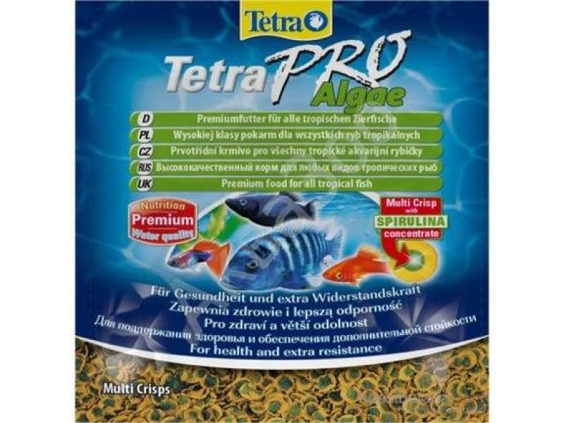 Tetra Pro Algae Crisps Bitkisel Ciklet Balığı Yemi 12gr