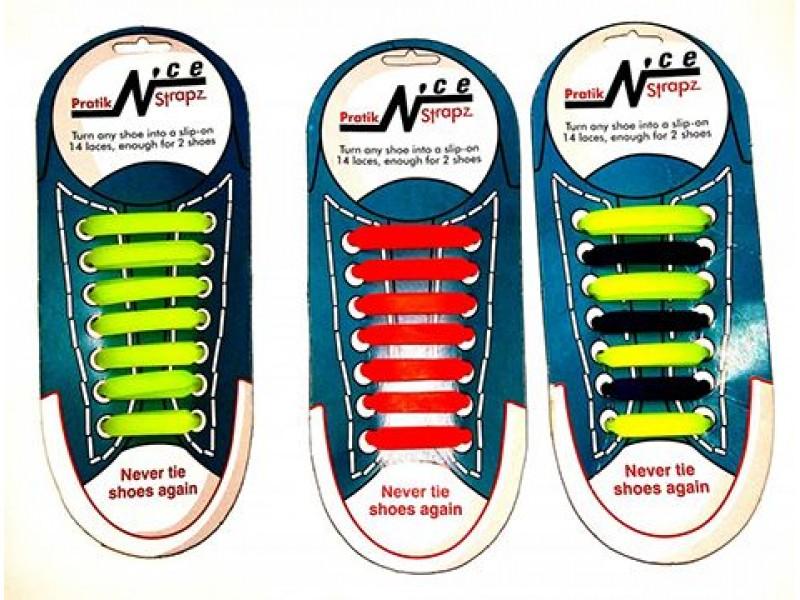 Renkli Silikon Ayakkabı Bağcıkları 1 ADET