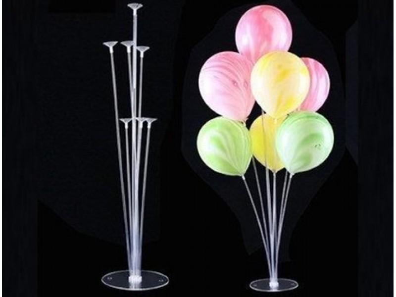 7'li Ayaklı Balon Standı (75 cm) 1 ADET