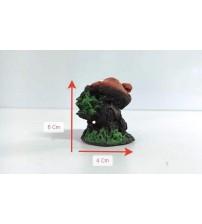 Akvaryum Dekor Mini  Ağaç Mantar