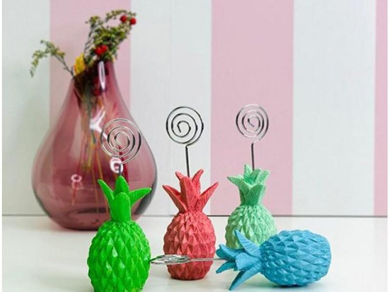 Ananas Tasarımlı Polyester Notluk 1 ADET