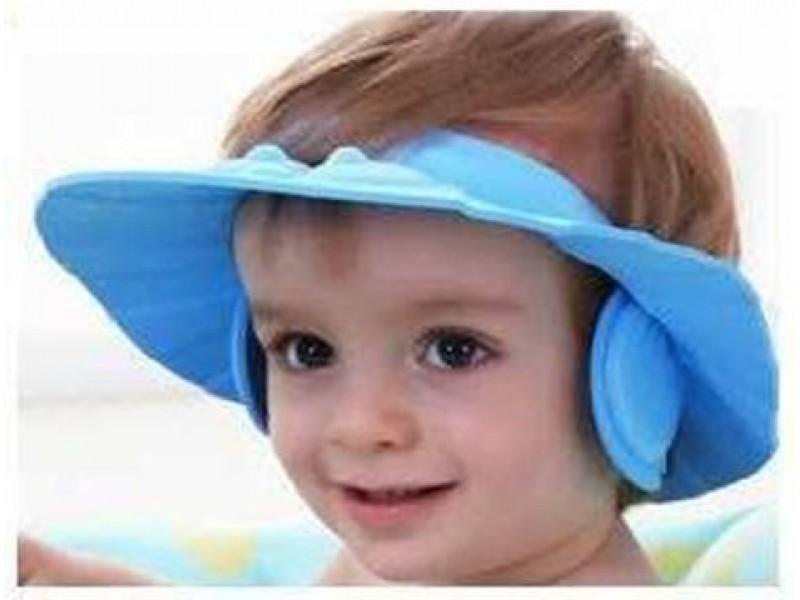 Kulaklıklı Bebek Banyo Şapkası Baby Mate Pembe 1 ADET