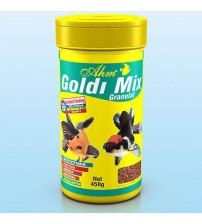 Koi ve Japon Balığı Yemi Ahm Marin Goldi Mix 250 Ml