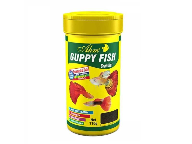 Ahm Marin GUPPY FISH GRANULAT 250 Ml Balık Yemi