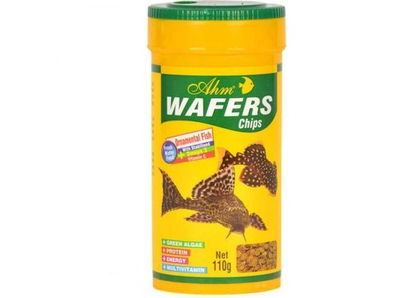 AHM Wafers Chips 250 ml Vatoz Balık Yemi