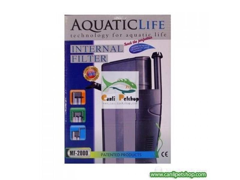 Aquatic Life MF-2000 İç Filtre 2x400 L/h (İki Filtreli)