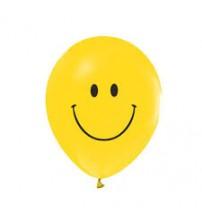 Gülen Yüz Emojili  Balon 10 adet
