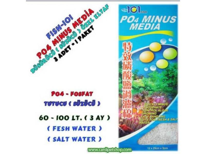 Alg Önleyici Fosfat Tutucu Elyaf 1 Paket (po4 minus media)