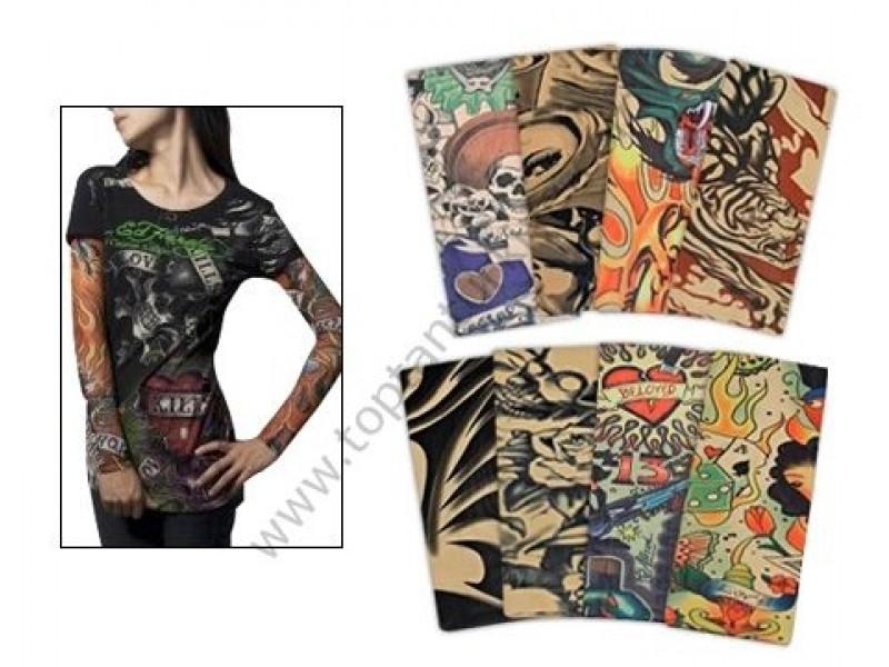Tattoo Sleeves Giyilebilir Dövme