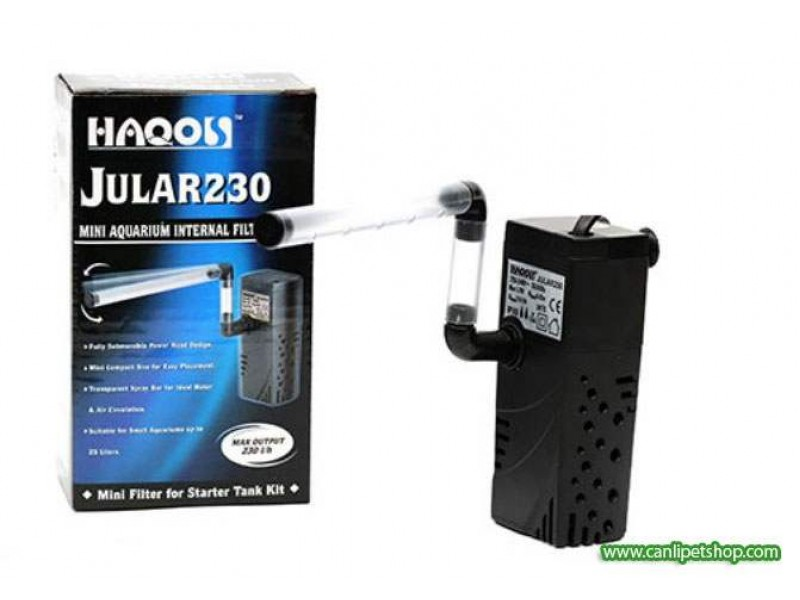 Haqos Jular-230 İç Filtre 210 Litre 1.7 W