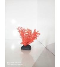 Plastik Bitki 8 cm Kırmızı Çam