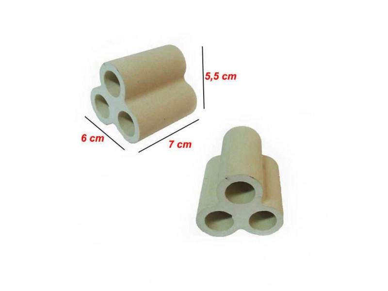Y-Karides Yuvası ve Üretim Tüpü 3 lü seramik