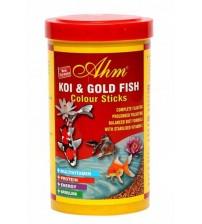 Koi ve Japon Balığı Renk Yemi (Koi ve Japon Balığı Renk Yemi (Koi Goldfish Colour Pond Sticks  1000 ml)