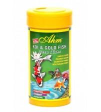 Koi ve Japon Balığı Bitkisel Yem (AHM Green Pond Sticks 1000 ml)