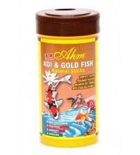 Koi ve Japon Balığı Doğal Yem (AHM Natural Pond Sticks 1000 ml)