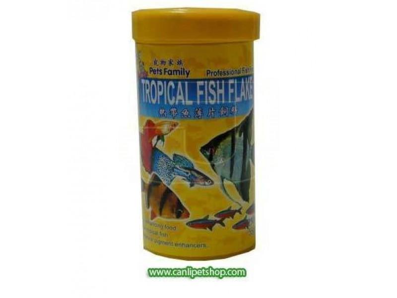 Pets Family Tropical Fish Flake 250 ml