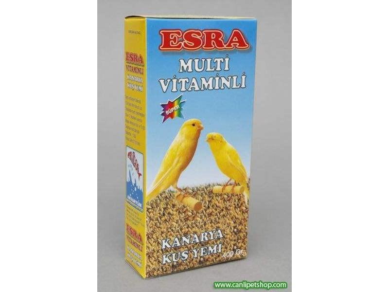 Yem Esra Multi Vitaminli Kanarya için 400 Gr
