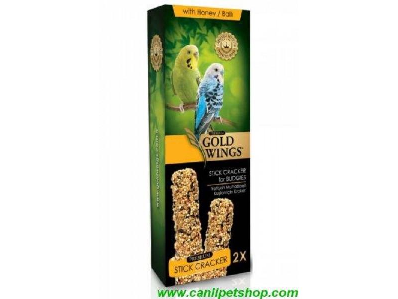 Goldwings Premium Kanarya Krakeri Ballı ve Yumurtalı 1 Ad 2 li